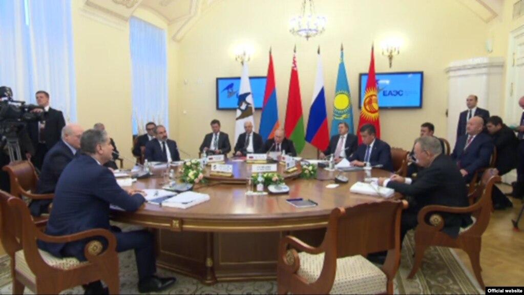 Пашинян: Армения заинтересована в углублении интеграционных процессов в ЕАЭС