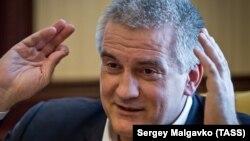 Cергій Аксьонов, підконтрольний Росії глава Криму