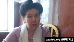 Роза Абиханова, активистка производственного кооператива «Акниет». 26 марта 2014 года.