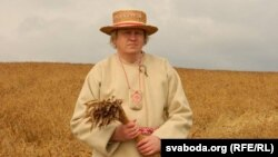 Нацыянальна-культурны цэнтар Крывічы, Іркуцк Алег Рудакоў унацыянальным строі