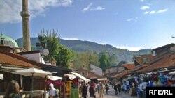 Сараево, Босния. Торговый квартал Башчаршия