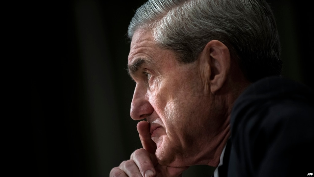 U.S. Justice Department special counsel Robert Mueller (file photo)