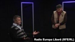 Vasile Botnaru şi analistul politic Igor Boţan