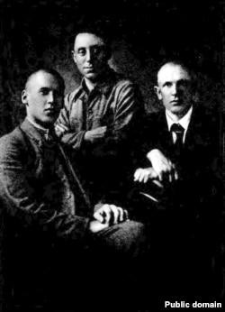 Зьмітрок Бядуля, Уладзімер Дубоўка і Мікола Касьпяровіч, 1920-я гады