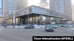 В одной из башен Talan Towers расположен пятизвездочный отель, которым владеет компания Утемуратова. Нур-Султан, 2 декабря 2020 года.