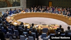 The UN resolution was approved on April 23 with Russia and China abstaining. (file photo)