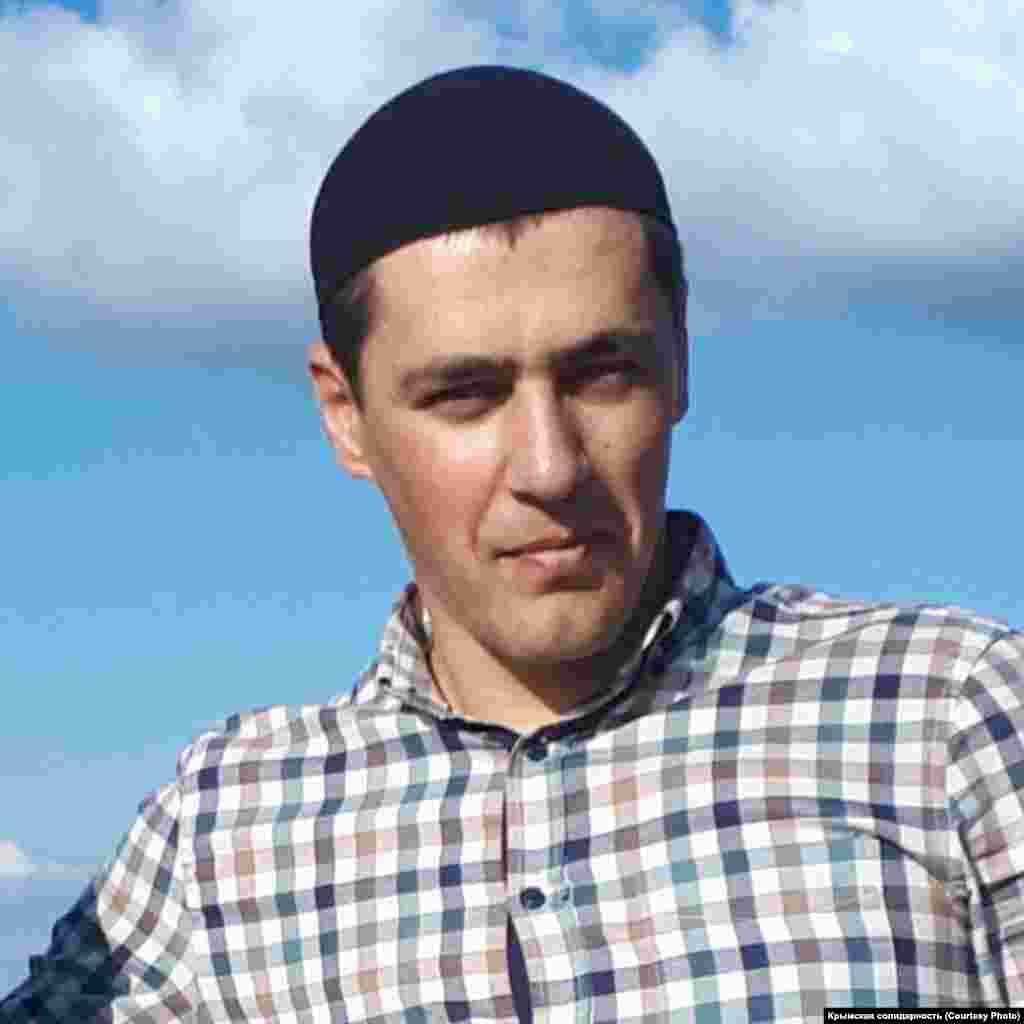 Амет Сулейманов, менеджер,гражданский журналист инициативы «Крымская солидарность»