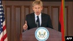 Посол США в Ливии Кристофер Стивенс, убитый в Бенгази