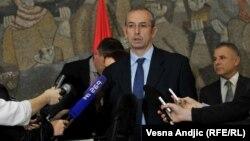Shefi i delegacionit të Bashkimit Evropian në Serbi, Michael Devenport.
