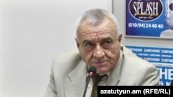 Սփյուռքի փոխնախարար Սերժ Սրապիոնյանը: