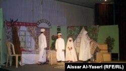 من مهرجان مسرح الطفل في النجف