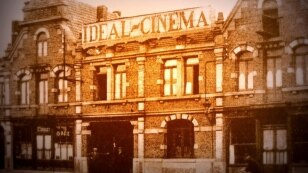 France -- Cinema L'Idéal (France), built in 1905, is considered the oldest of the existing