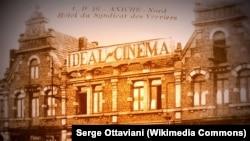 """Fransada tikilmiş dünyada ən qədim kinoteatr """"L'Idéal"""", 1905-ci ilə aiddir."""