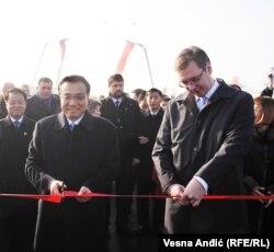 Li Kećijang i Aleksandar Vučić