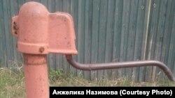 Отключённые водопроводы в Вихоревке в Приангарье