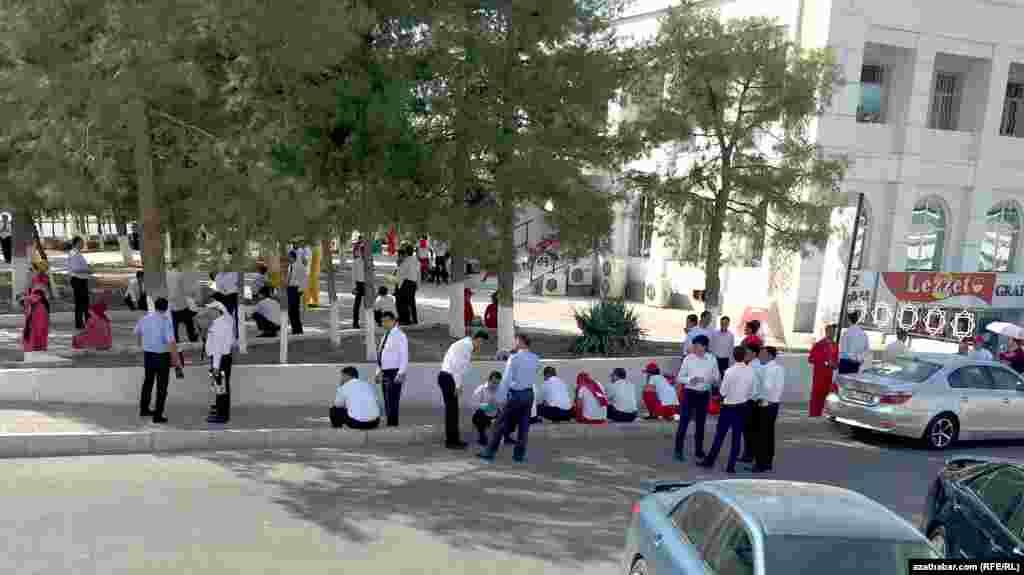 В Ашгабате продолжаются репетиции церемонии открытия Азиатских игр.