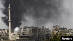 Pamje nga një eksplodim i mëparshëm në Alepo të Sirisë