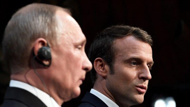 Ֆրանսիայի նախագահ Էմանյուել Մակրոնը շնորհավորել է Վլադիմիր Պուտինին