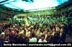 Під час Установчого з'їзду Народного руху України, який проходив у Києві 8–10 вересня 1989 року