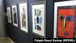 جانب من المعرض العراقي في جامعة البتراء الاردنية