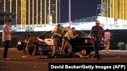 Стрельба возле казино в Лас-Вегасе, 1 октября 2017 года.