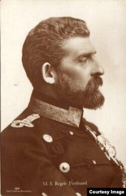Portret al Regelui Ferdinand (Foto: http://www.marelerazboi.ro/razboi-catalog-obiecte/item/regele-ferdinand)