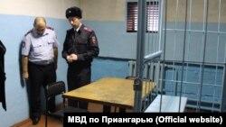 В изоляторе временного содержания в Черемхове Иркутской области