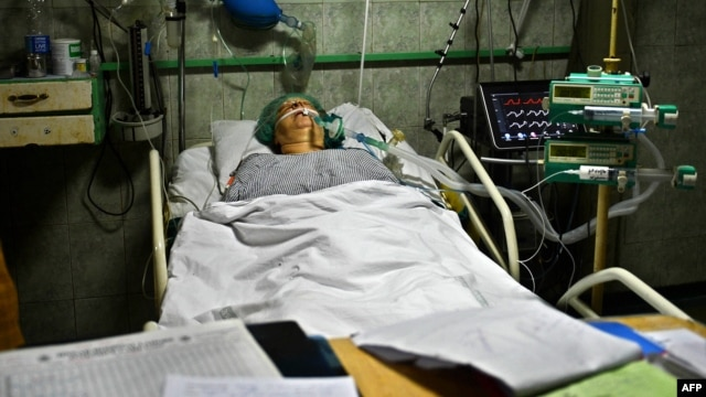 Aid worker Bargeeta Almby is recovering from surgery at a hospital in Lahore.