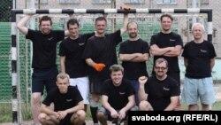 Футбольная каманда Радыё Свабода