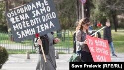 Osmomartovski marš u Podgorici, ilustrativna fotografija