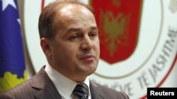 Ministri i jashtëm i Kosovës Enver Hoxhaj