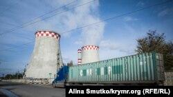 Украинадағы жылу электр станцияларының бірі (Көрнекі сурет).