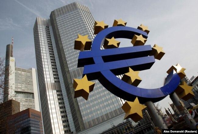 Zajedničku valutu koristi 340 miliona ljudi u 19 zemalja (Sedište Evropske centralne banke Frankfurtu)