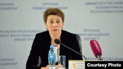 Бас санитар дәрігер Айжан Есмағамбетова.