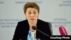 Қазақстанның бас санитар дәрігері Айжан Есмағамбетова.