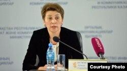 Қазақстанның бас санитарлық дәрігері Айжан Есмағамбетова.