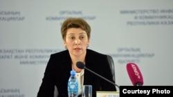 Главный санитарный врач Казахстана Айжан Есмагамбетова.