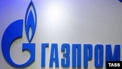 Логотип российской компании «Газпром».
