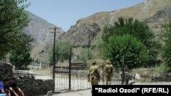 Таджикско-афганская граница в Дарвазском районе ГБАО.