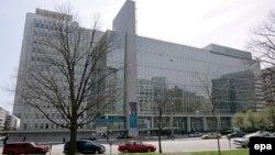 U.S. -- The World Bank building in Washington, April 9, 2008