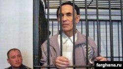 Ղրղըզստան - Ազիմժոն Ասկարովը դատարանի դահլիճում, նոյեմբեր, 2010թ․
