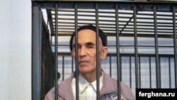 Իրավապաշտպան Ազիմժոն Ասկարովը դատավարության ժամանակ, արխիվ