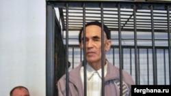 Uzbek human rights activist Azimjan Askarov at an appeal court hearing