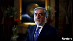 Afghan Chief Executive Abdullah Abdullah