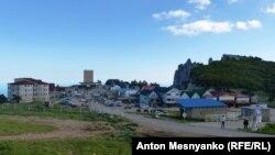 Торговый городок на плато Ай-Петри
