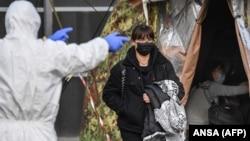 Эвакуация граждан Италии из Уханя. 3 февраля 2020 года