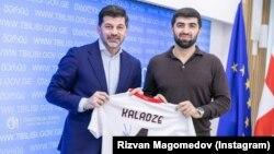 Каха Каладзе и Ризван Магомедов