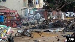 محل انفجار انتحاری در نیجریه (عکس از آرشیو)