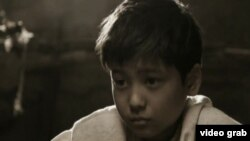Айнұр Исмаилованың «Көке» атты қысқа метражды фильмінен скриншот.