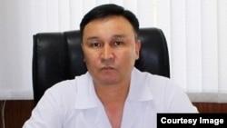 Алмазбек Кубатбеков.